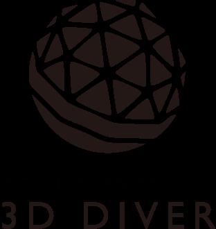 3D DIVER ロゴ