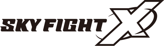 SKY FIGHT X ロゴ